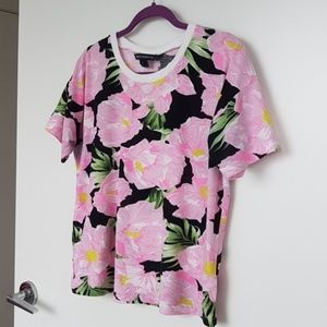 French Connection Floral Tshirt size S